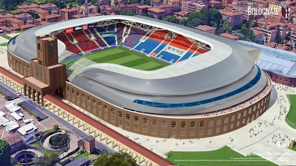 Bologna si affida al BIM per la riqualificazione dello Stadio Dall'Ara