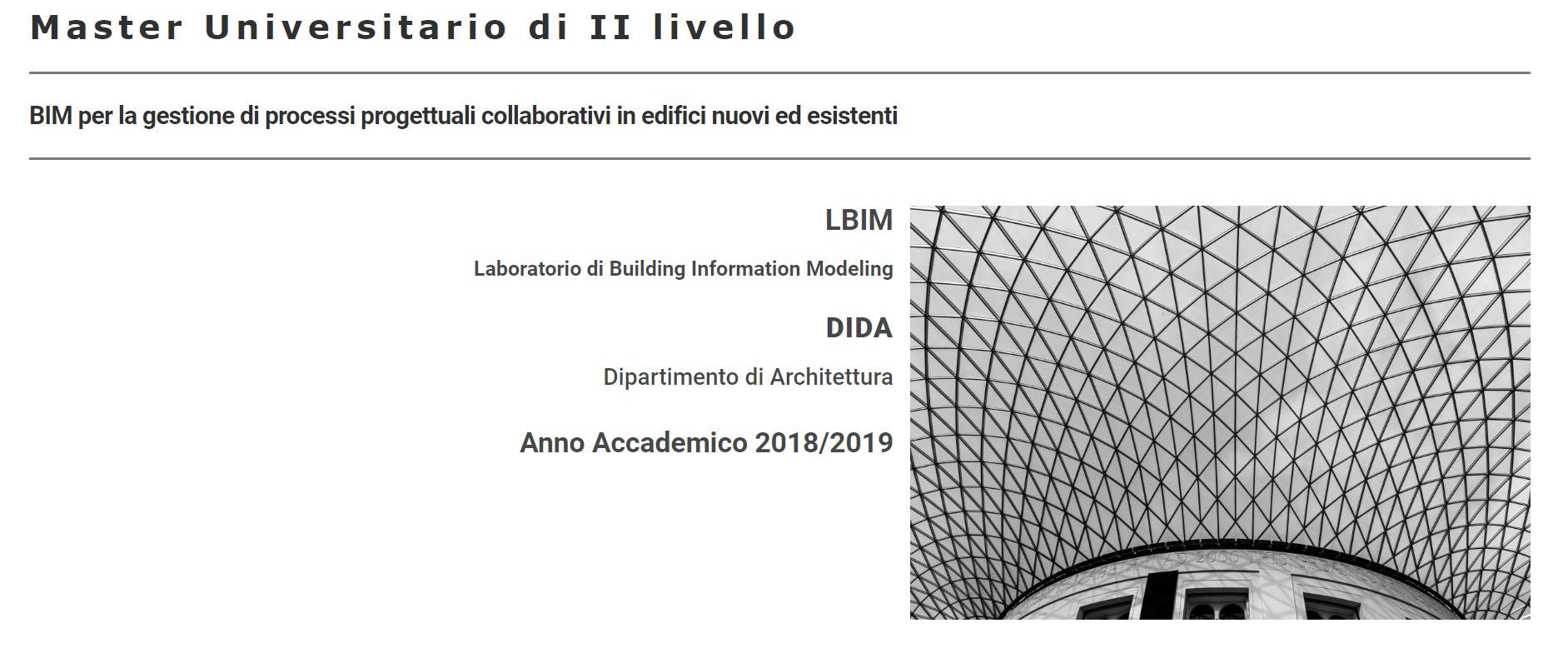 Il BIM per la gestione di processi progettuali collaborativi