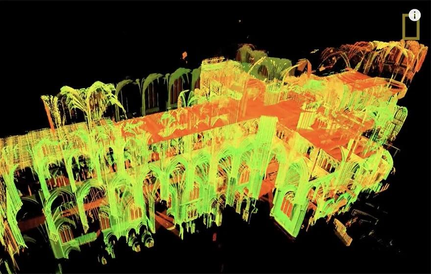 Una copia digitale è la speranza di Notre Dame