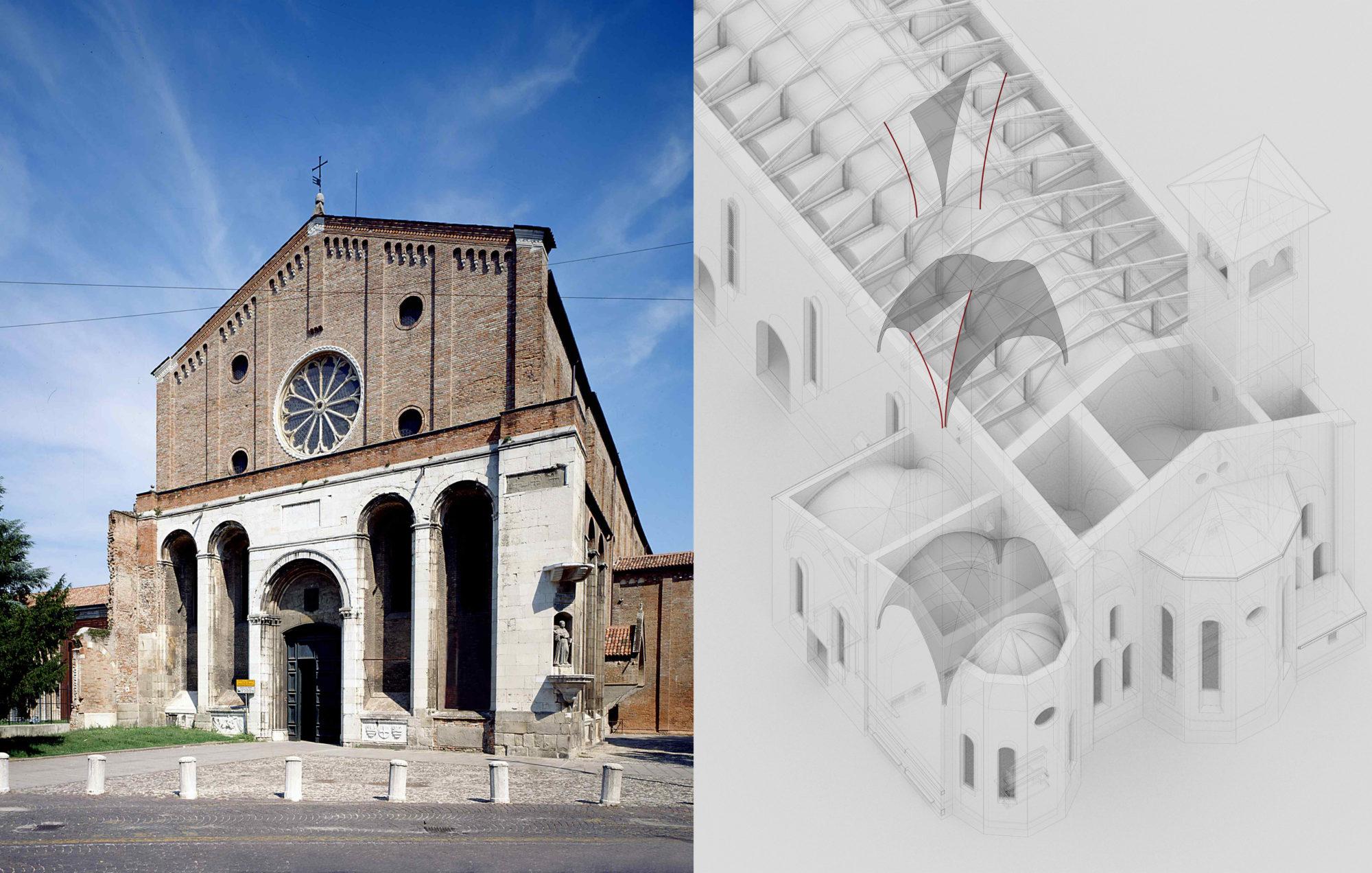 Sperimentazione HBIM per la Chiesa degli Eremitani a Padova