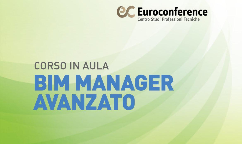 Corso BIM Manager Avanzato in aula