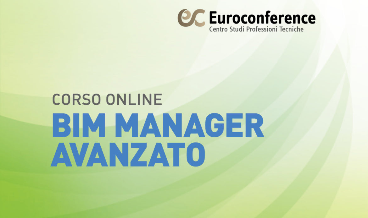Corso BIM Manager Avanzato on-line