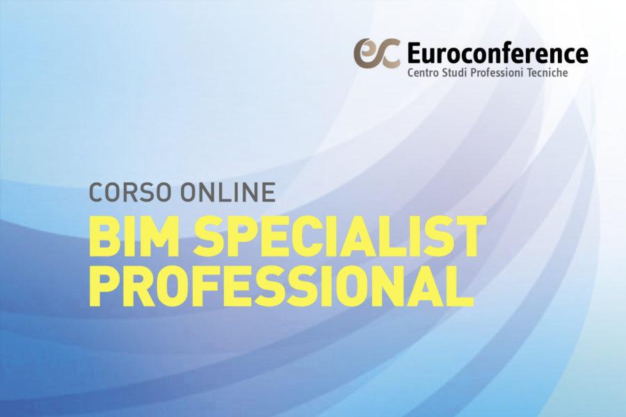 Corso BIM Specialist Professional on-line