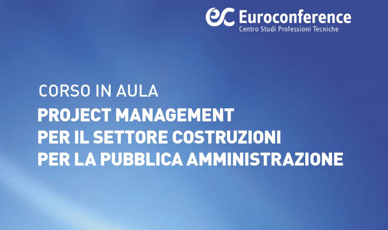 Project Management per il settore costruzioni