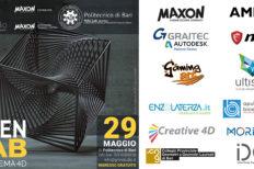 A Bari l'appuntamento con OPENLAB Cinema4D