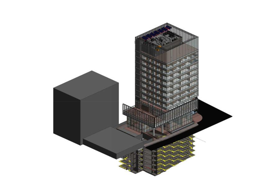 Nuovo edificio a torre a Teheran
