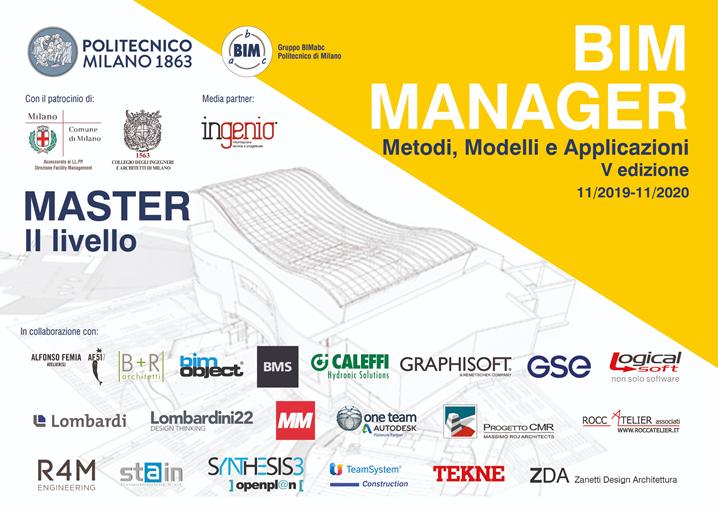 Master BIM Manager del  Politecnico di Milano