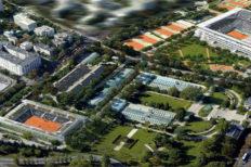 """Ampliamento e restyling del complesso """"Roland Garros"""""""