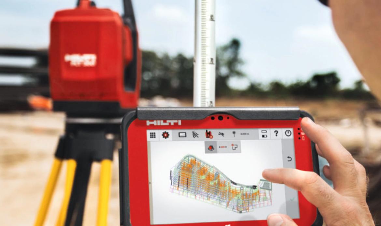 Hilti: la misurazione in cantiere è BIM-to-Field