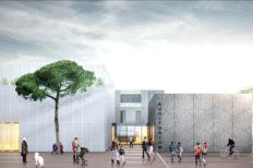 La nuova Scuola media Panzacchi di Ozzano dell'Emilia