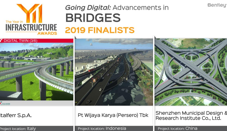 Italferr finalista del premio Year in Infrastructure 2019
