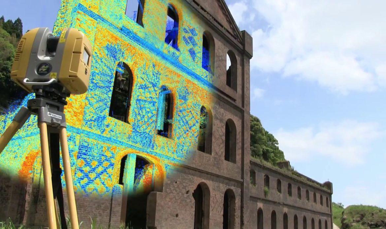 Laser scanner 3D Topcon per le nuvole di punti