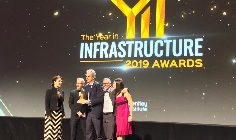 "Italferr vince il premio ""Year in Infrastructure 2019"""