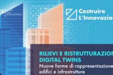 Rilievi e ristrutturazioni: digital twins