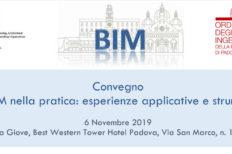 """A Padova il convegno OICE """"Il BIM nella pratica"""""""