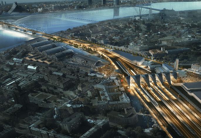 CREW (Gruppo FS) per la riqualificazione della stazione centrale di Riga