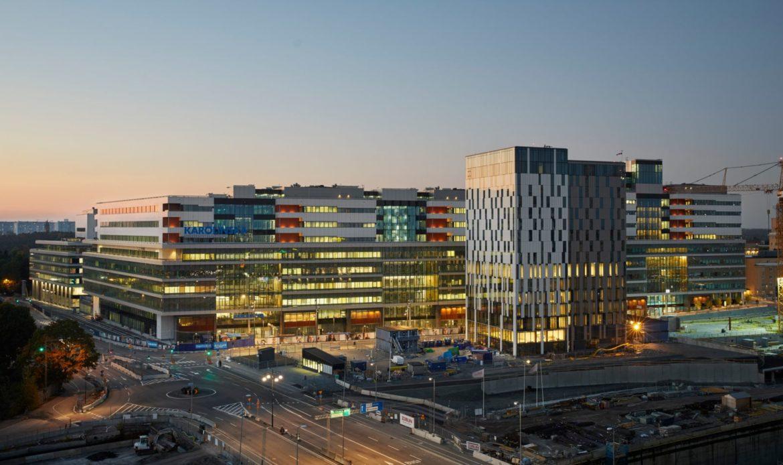 Il nuovo ospedale New Karolinska Solna