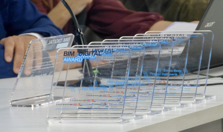 I vincitori dei BIM&DIGITAL Awards 2019
