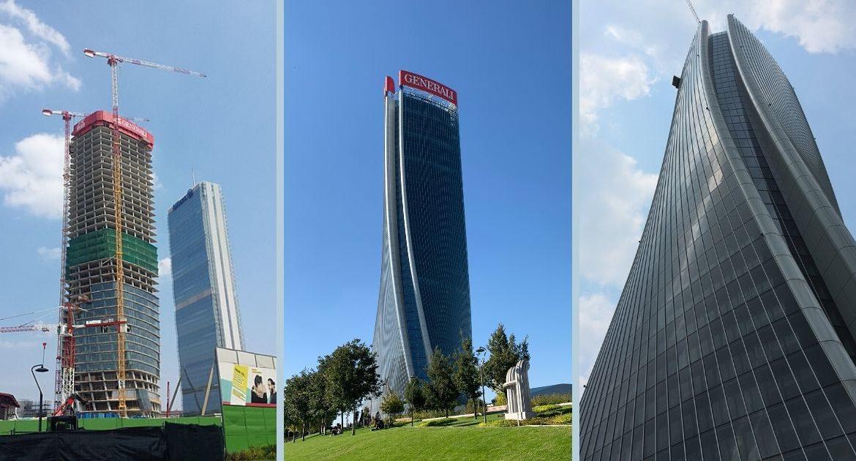 Excellence in Concrete Construction Award per la Torre Generali di CityLife e il ruolo di Redesco Progetti