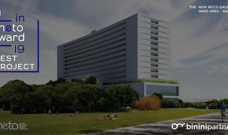 Premiato l'ospedale del futuro di Binini Partners