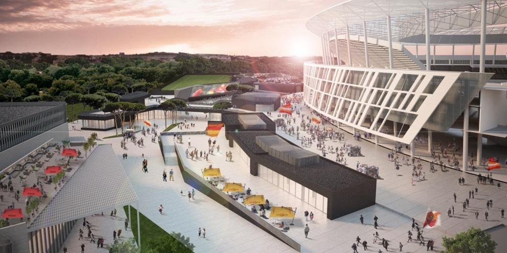 Nuovo stadio di Roma