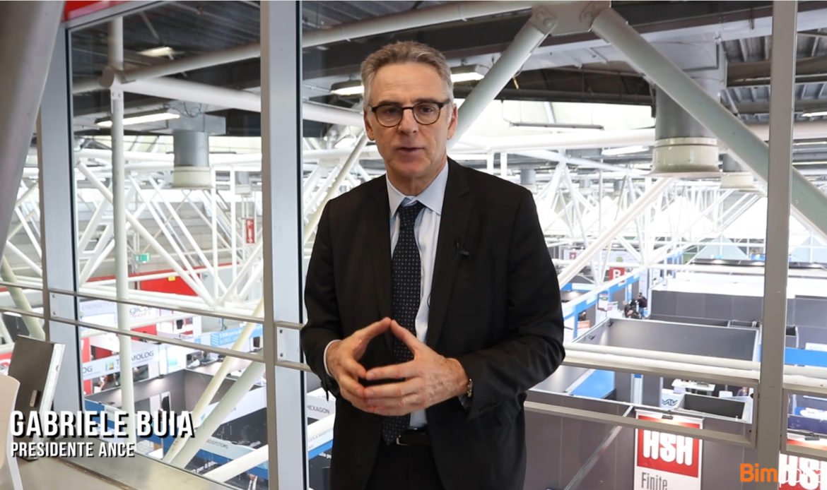 Video intervista a Gabriele Buia, Presidente Ance