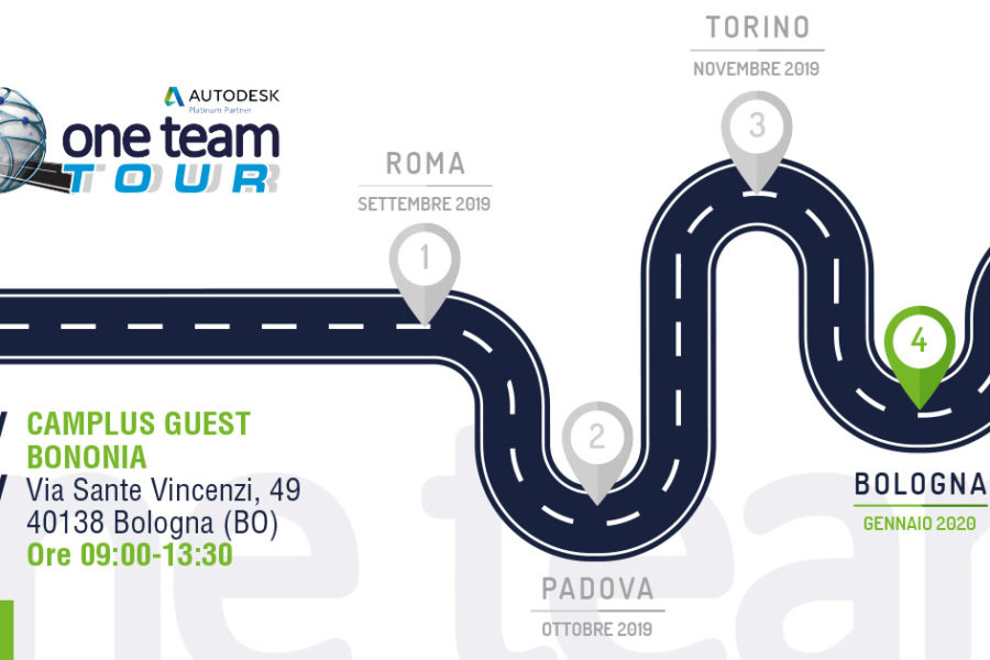 One Team Tour a Bologna