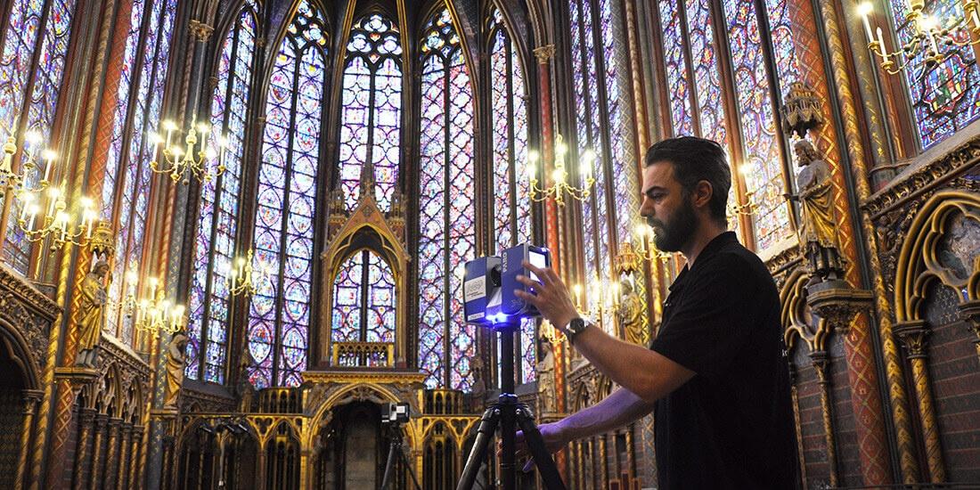 HBIM: al via la digitalizzazione di cinque cattedrali nella Loira