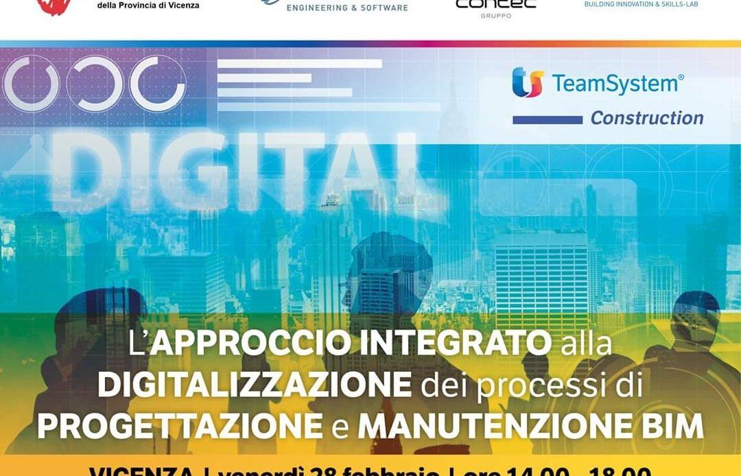 A Vicenza l'approccio integrato alla digitalizzazione dei processi costruttivi