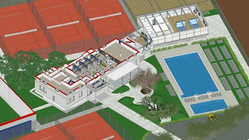 Restyling del centro sportivo Monviso Sporting Club