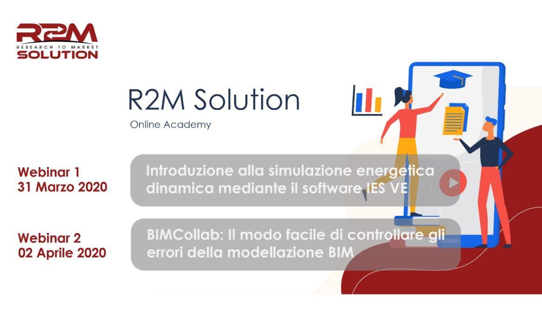 31 Marzo – Webinar sulla simulazione energetica