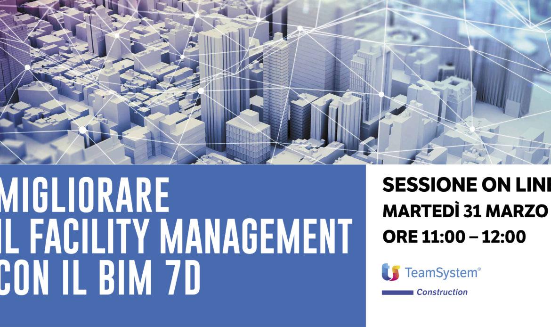 31 Marzo – Il Facility Management con il BIM 7D