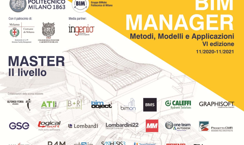 Master BIM al Politecnico di Milano