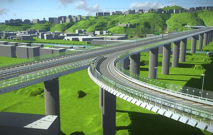 Italferr: digital twin per il nuovo viadotto sul Polcevera a Genova