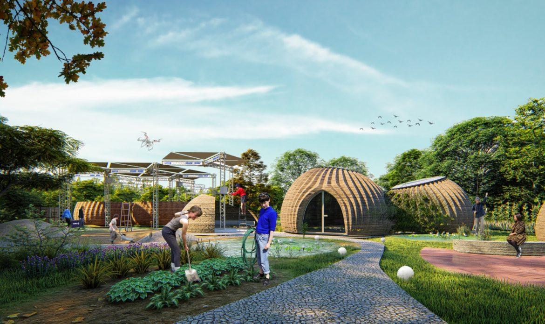 Tecla, la casa eco-sostenibile stampata in 3D
