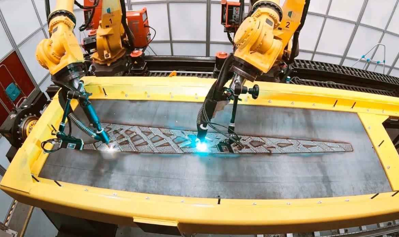 Foster+Partners stampa in 3D l'acciaio strutturale