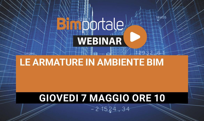 7 Maggio – Webinar Le armature in ambiente BIM