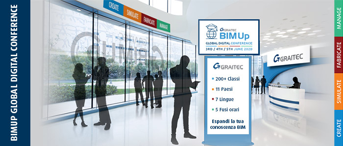 3-5 Giugno – BIMUp Global Digital Conference di Graitec