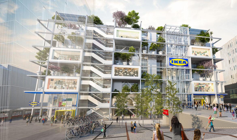 Il BIM per il primo store Ikea senza parcheggio