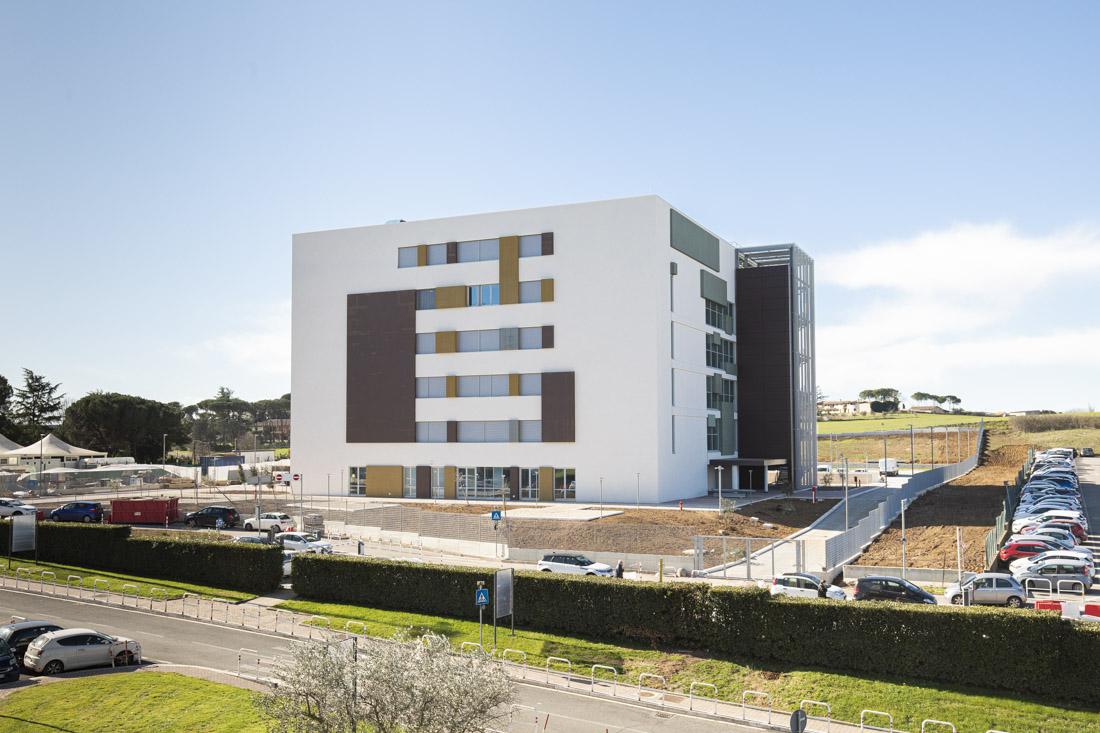 Imprese Di Costruzioni Roma ampliamento della facoltà di medicina presso l'ospedale sant