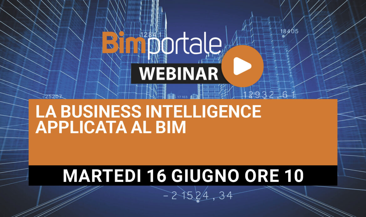 16 Giugno – La Business Intelligence applicata al BIM