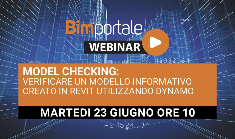 23 Giugno – Model checking: verificare un modello informativo creato in Revit utilizzando Dynamo