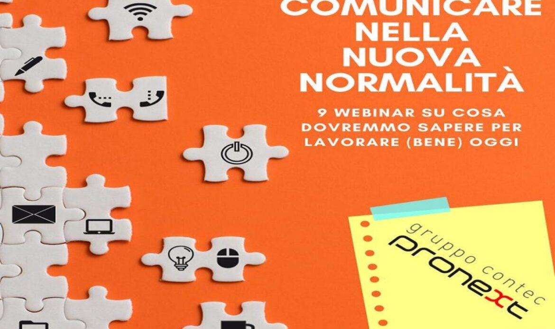 Pronext – Gruppo Contec: Comunicare nella nuova normalità