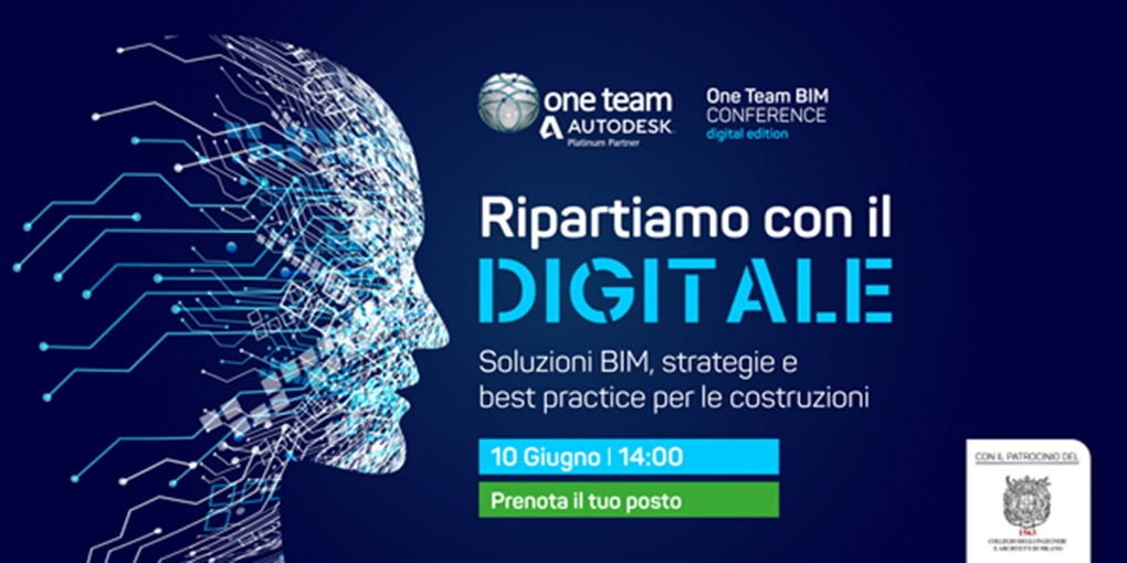 10 Giugno – One Team BIM Conference