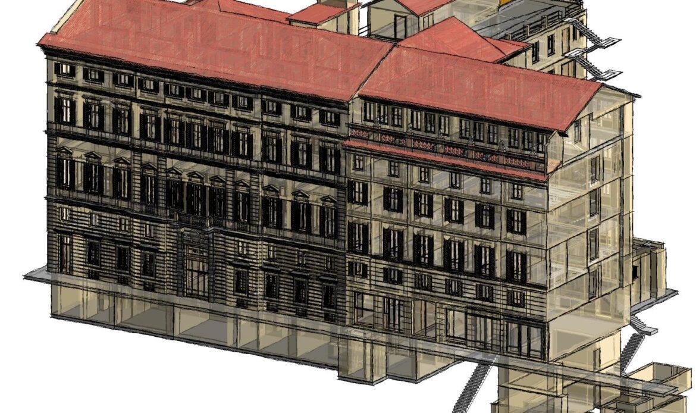 Restauro conservativo di Palazzo d'Harcourt a Torino