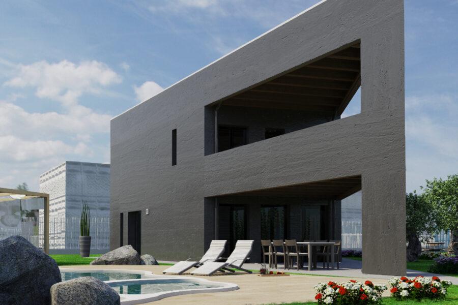 """""""The Slice"""", la passivhaus triangolare progettata in BIM"""