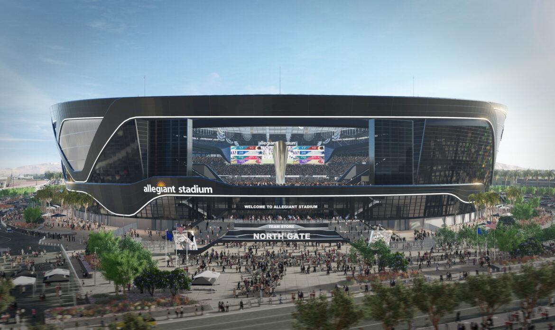 Nuovo stadio di football di Las Vegas