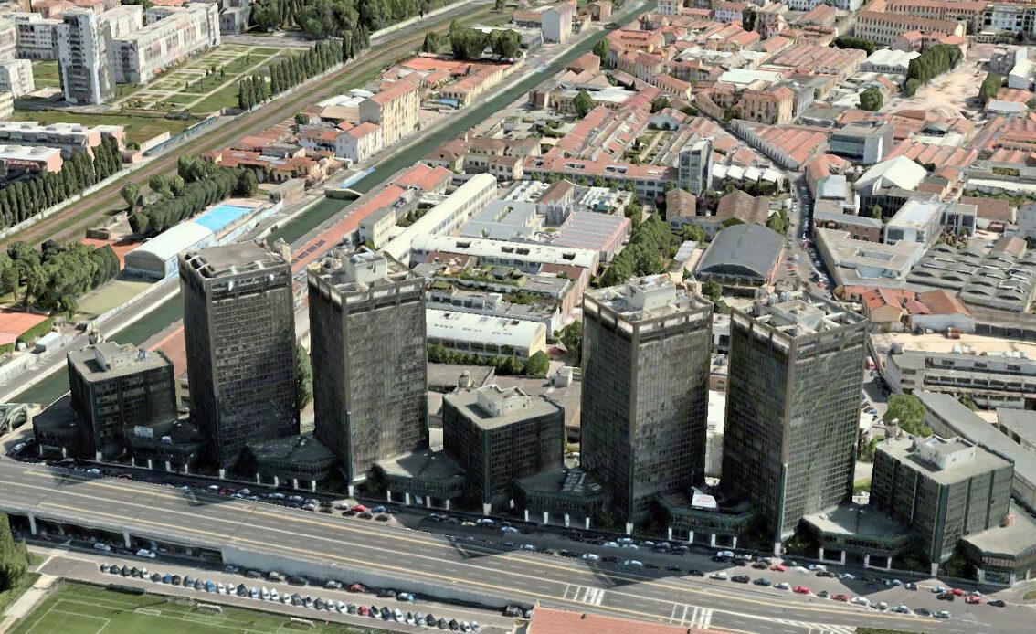 Il BIM nel progetto di riqualificazione delle torri Richard a Milano