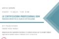 10 Luglio – Le certificazioni professionali BIM