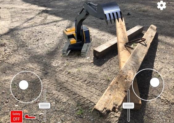 Sviluppato il primo escavatore digitale